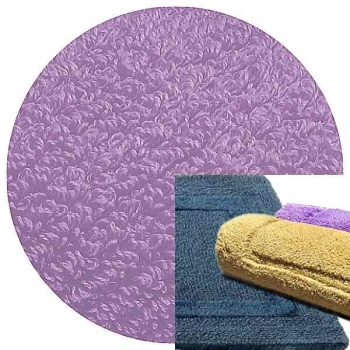 Abyss & Habidecor Bath Mat Reversible, 50 x 80 cm, 100% Egyptian Combed Cotton, 430 Lupin