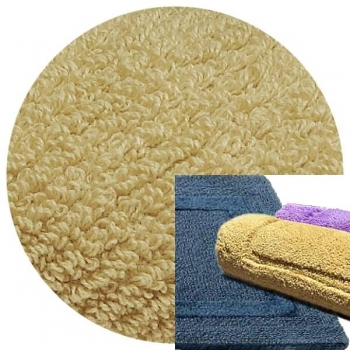 Abyss & Habidecor Bath Mat Reversible, 50 x 80 cm, 100% Egyptian Combed Cotton, 770 Linen