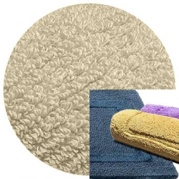 Abyss & Habidecor Bath Mat Reversible, 50 x 80 cm, 100% Egyptian Combed Cotton, 950 Cloud