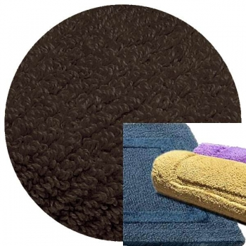 Abyss & Habidecor Bath Mat Reversible, 50 x 80 cm, 100% Egyptian Combed Cotton, 993 Metal
