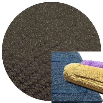 Abyss & Habidecor Bath Mat Reversible, 60 x 100 cm, 100% Egyptian Combed Cotton, 920 Gris