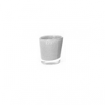 Collection DutZ® vase Conic, h 11 x Ø 9.5 cm, gris moyen
