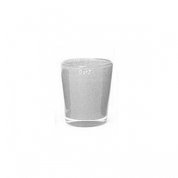 Collection DutZ® vase Conic, h 14 x Ø 12 cm, gris moyen