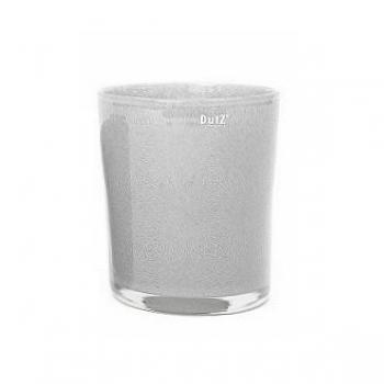 Collection DutZ® vase/récipient Pot, h 18 x Ø 20 cm, gris moyen