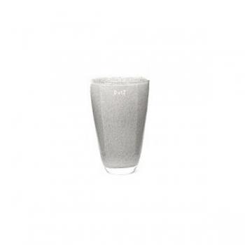 Collection DutZ® Vase, h 18 cm x Ø 12 cm, gris moyen