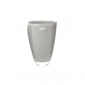 Collection DutZ® Vase, h 26 cm x Ø 16 cm, gris moyen