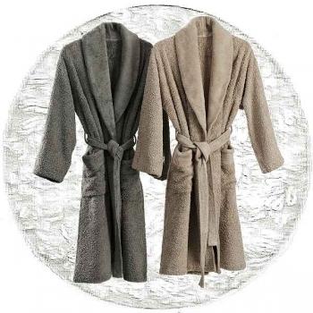 Abyss & Habidecor Super Pile Bath Robe, 100% Egyptian Giza 70 cotton, 700 g/m², Size L, 100 White