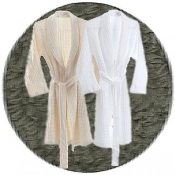 Abyss & Habidecor Pousada Bath Robe, 100% Egyptian Giza 70 cotton, 300 g/m², Size M, 920 Gris