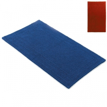 Abyss & Habidecor Bath Mat Bay, 50 x 80 cm, 100% Egyptian Giza 70 cotton, combed, 502 Hibiscus