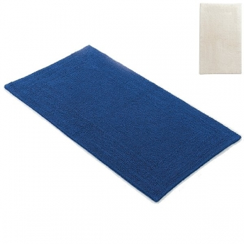 Abyss & Habidecor Bath Mat Bay, 60 x 100 cm, 100% Egyptian Giza 70 cotton, combed, 101 Ecru