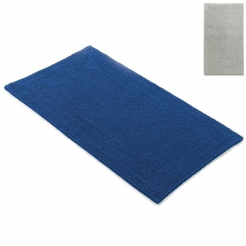 Abyss & Habidecor Bath Mat Bay, 60 x 100 cm, 100% Egyptian Giza 70 cotton, combed, 992 Platinum
