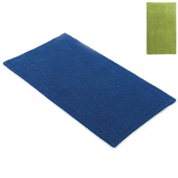 Abyss & Habidecor Bath Mat Bay, 70 x 140 cm, 100% Egyptian Giza 70 cotton, combed, 165 Apple Green