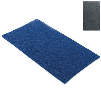 Abyss & Habidecor Bath Mat Bay, 70 x 140 cm, 100% Egyptian Giza 70 cotton, combed, 920 Gris
