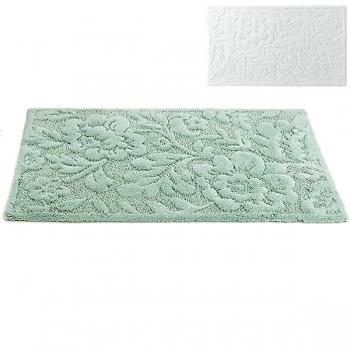 Abyss & Habidecor Bath Mat Brighton, 50 x 80 cm, 60% cotton, combed, 40% acrylic, 100 White