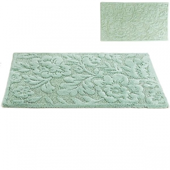 Abyss & Habidecor Bath Mat Brighton, 50 x 80 cm, 60% cotton, combed, 40% acrylic, 210 Aqua