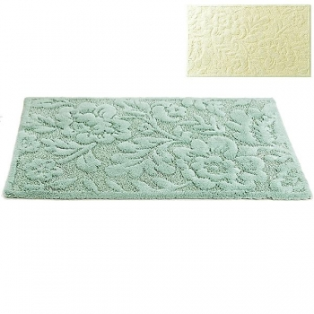 Abyss & Habidecor Bath Mat Brighton, 60 x 100 cm, 60% cotton, combed, 40% acrylic, 101 Ecru