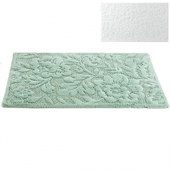 Abyss & Habidecor Bath Mat Brighton, 70 x 140 cm, 60% cotton, combed, 40% acrylic, 100 White