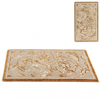Abyss & Habidecor Bath Mat Dynasty, 50 x 80 cm, 80% cotton, combed, 10% acrylic, 10% lurex, 770 Linen