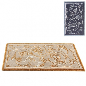 Abyss & Habidecor Bath Mat Dynasty, 70 x 140 cm, 80% cotton, combed, 10% acrylic, 10% lurex, 993 Metal