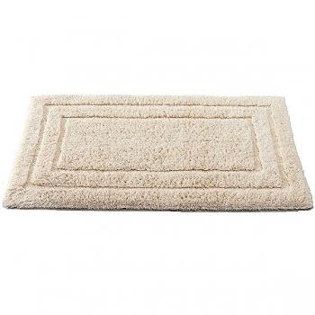 Abyss & Habidecor Bath Mat Eko, 60 x 100 cm, 100% Egyptian Giza 70 cotton, 101 Ecru