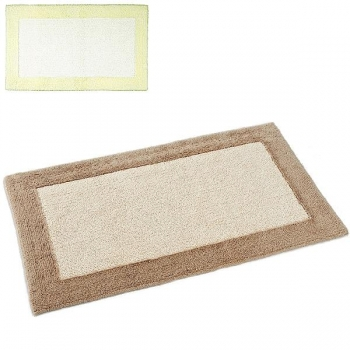 Abyss & Habidecor Bath Mat Origine, 50 x 80 cm, 100% Egyptian Giza 70 cotton, combed, 101 Ecru