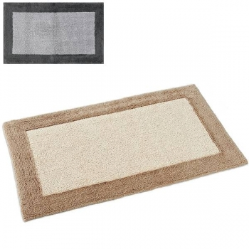 Abyss & Habidecor Bath Mat Origine, 60 x 100 cm, 100% Egyptian Giza 70 cotton, combed, 920 Gris