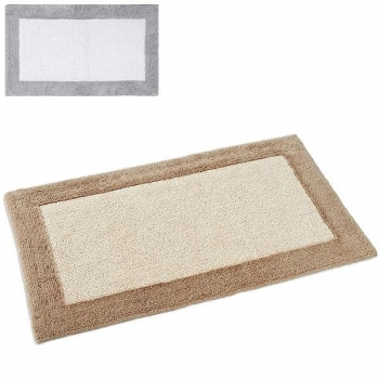 Abyss & Habidecor Bath Mat Origine, 60 x 100 cm, 100% Egyptian Giza 70 cotton, combed, 992 Platinum