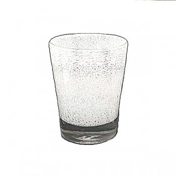 Collection DutZ® vase Conic avec des bulles, h 24 x Ø 19 cm, blanc