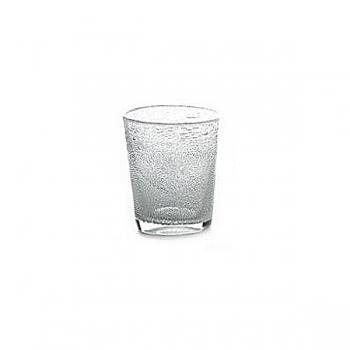 Collection DutZ® vase Conic avec des bulles, h 14 x Ø 12 cm, transparent