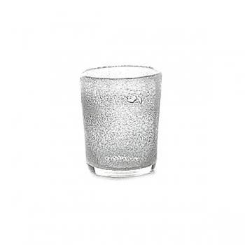 DutZ®-Collection Vase Conic with bubbles, h 17  x  Ø.15 cm, clear
