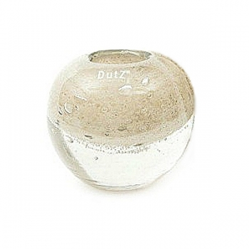 DutZ®-Collection Vase Bubble Ball, h 13,5 x Ø 13,5 cm, creme