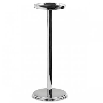 Edzard Stand Alberta for Champagne-/Wine-Coolers, polished stainless steel, h 60 x Ø 23 cm