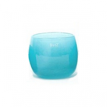 Collection DutZ® vase/récipient Pot, h 14 x Ø 16 cm, aqua