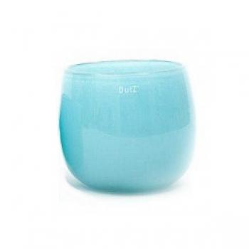 Collection DutZ® vase/récipient Pot, h 18 x Ø 20 cm, aqua