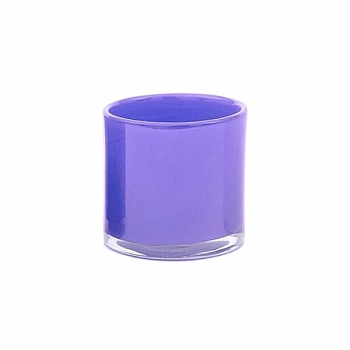 DutZ®-Collection Windlight Votive, h 10 x Ø 10 cm, purple