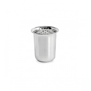 Edzard Drinking Cup Cuno, solid silver, shiny polished, h 5 x Ø 3 cm