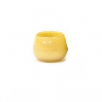 DutZ®-Collection Vase Pot Mini, h 7 x Ø 10 cm, curry