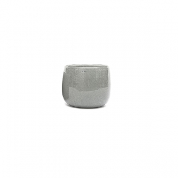 DutZ®-Collection Vase Pot Mini, h 7 x Ø 10 cm, medium grey