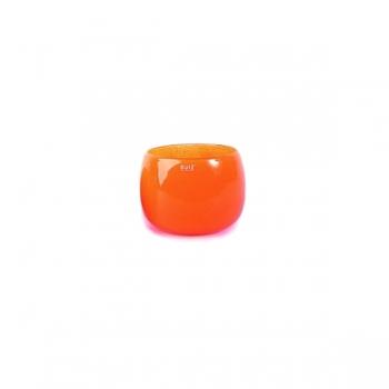 Collection DutZ® vase/récipient Pot Mini, h 7 x Ø 10 cm, orangé rouge
