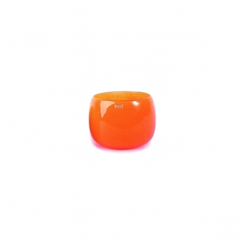 DutZ®-Collection Vase Pot Mini, h 7 x Ø 10 cm, red orange