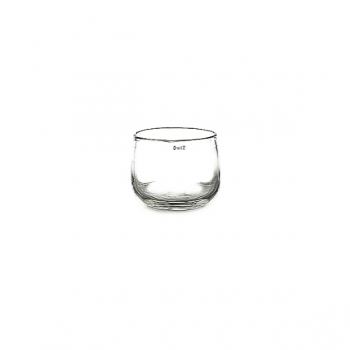 Collection DutZ® vase/récipient Pot Mini, h 7 x Ø 10 cm, transparent