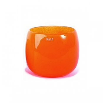 DutZ®-Collection Vase Pot, h 18 x Ø 20 cm, red orange