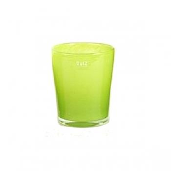 DutZ®-Collection Vase Conic, H 14 x Ø.12 cm, lime