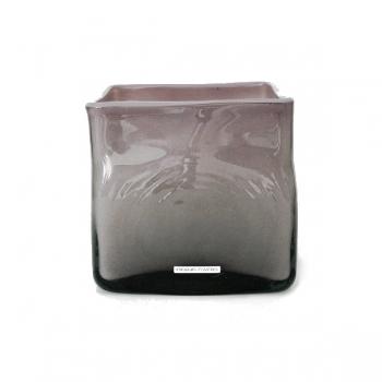 Henry Dean Vase/Windlight Square, h 16 x B 16 x T 16 cm, Zefiro
