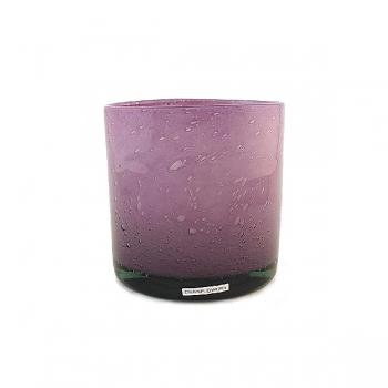 Henry Dean Vase/Windlight Cylinder, h 15 x Ø 15 cm, Lilac
