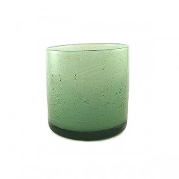 Henry Dean Vase/Windlicht Cylinder, H 15 x Ø 15 cm, Mint