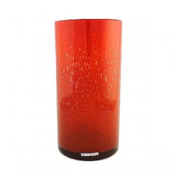 Henry Dean Vase/Windlight Cylinder, h 30 x Ø 15 cm, Fire