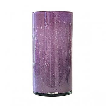 Henry Dean Vase/Windlight Cylinder, h 30 x Ø 15 cm, Lilac