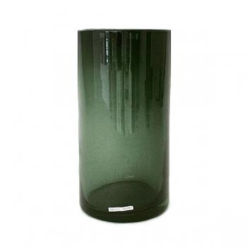 Henry Dean Vase/Windlight Cylinder, h 30 x Ø 15 cm, Smoke