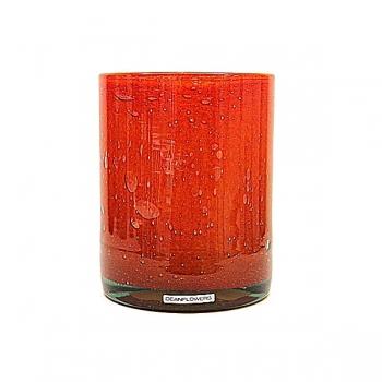 Henry Dean Vase/Windlight Cylinder, h 17 x Ø 13 cm, Fire